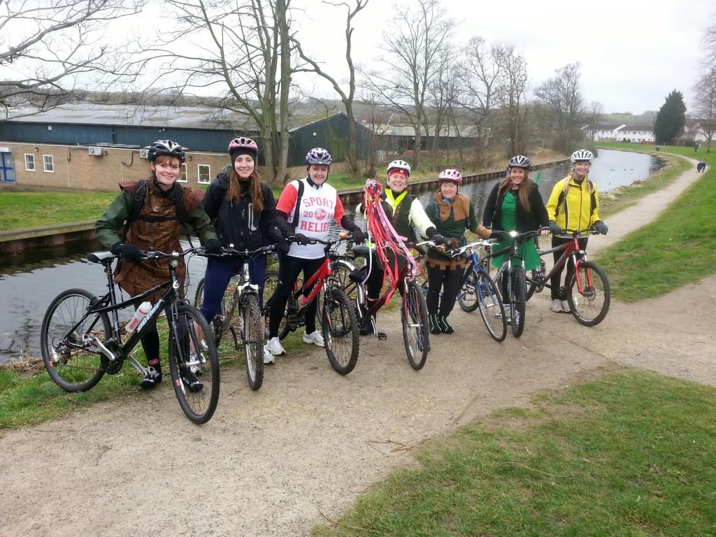 Team Honk Nottingham for Sport Relief 2014