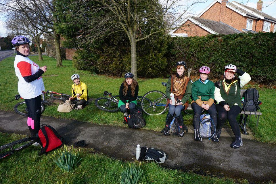 Team Honk Nottingham for Sport Relief 201