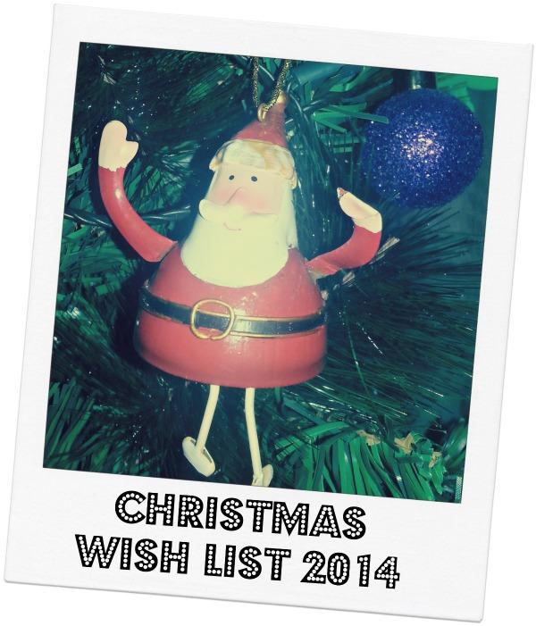 Christmas Wish List 2014