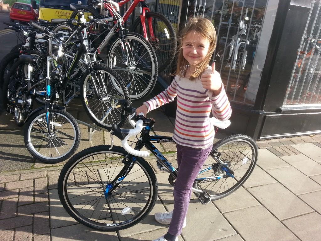 First junior road bike