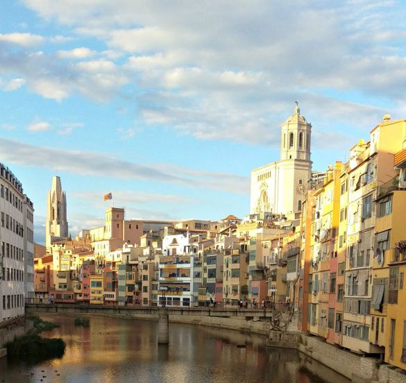 cycling around Girona, cyclotourism