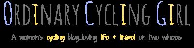 Ordinary Cycling Girl