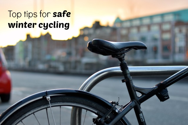 top tips for safe winter cycling