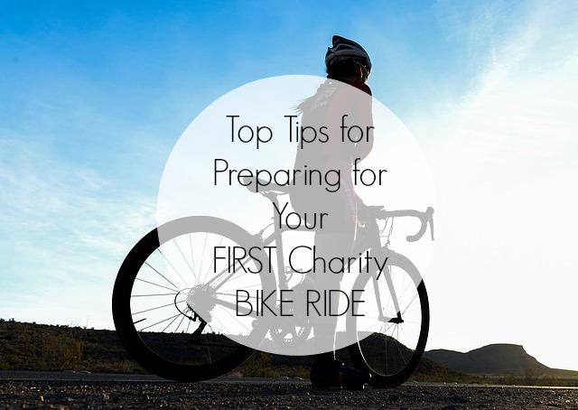 Preparing for your first charity bike ride