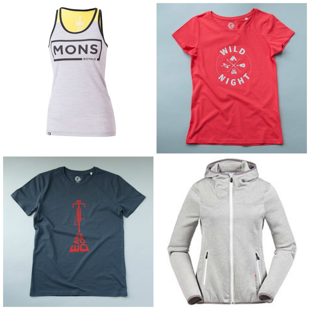 Active Clothing essentials for Summer Musto, Offgrid Clothing, Mons Royale
