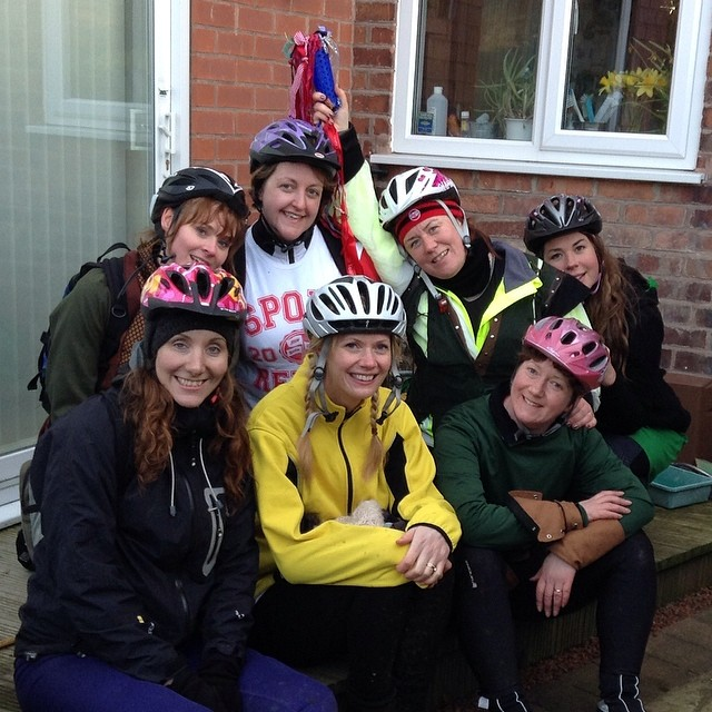 Team Honk Nottingham for Sport Relief 2014