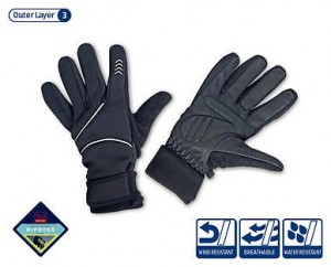 Aldi winter cycling gloves