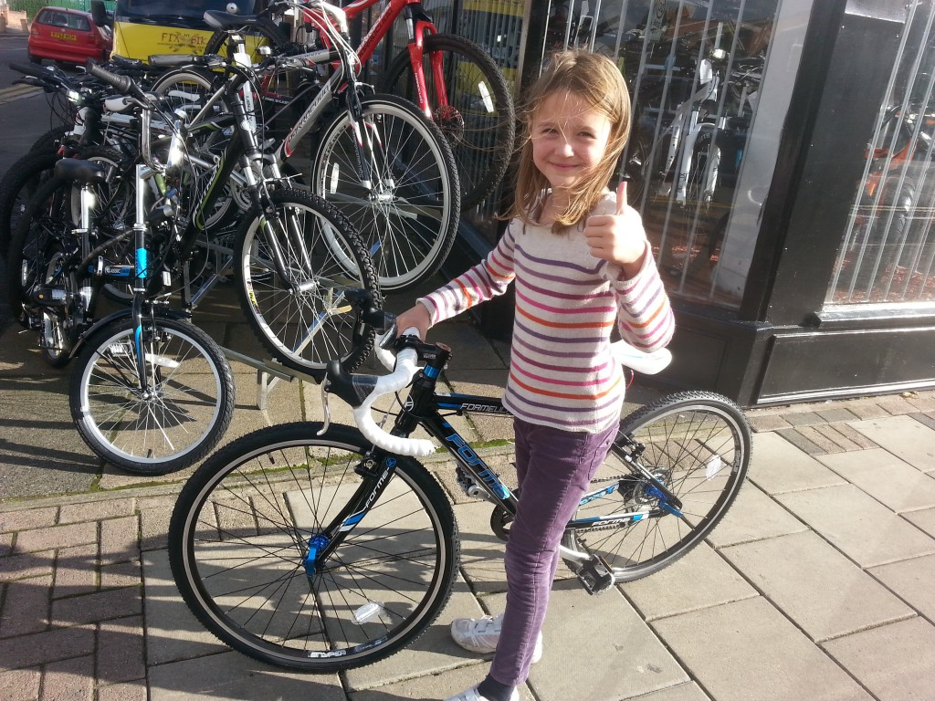 First junior road bike