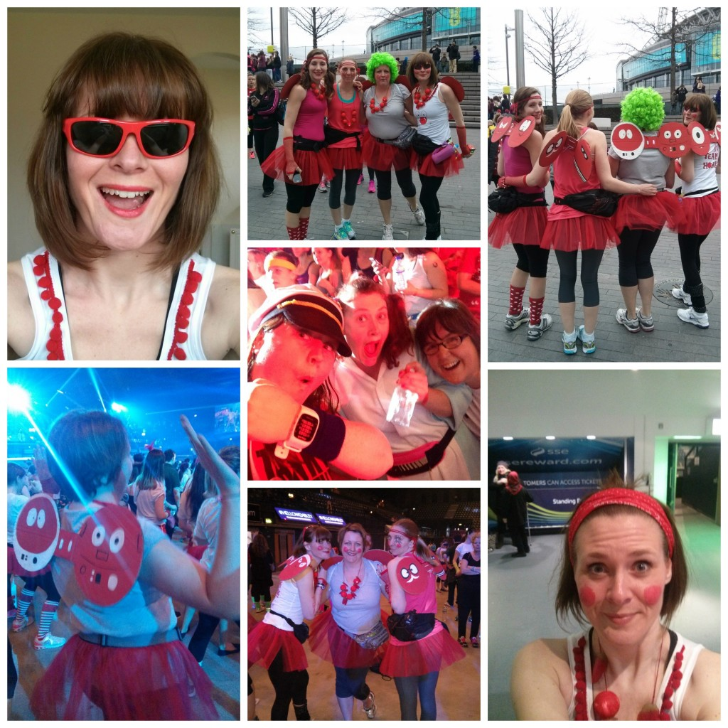 Comic Relief danceathon 2015, Red Nose Day 2015