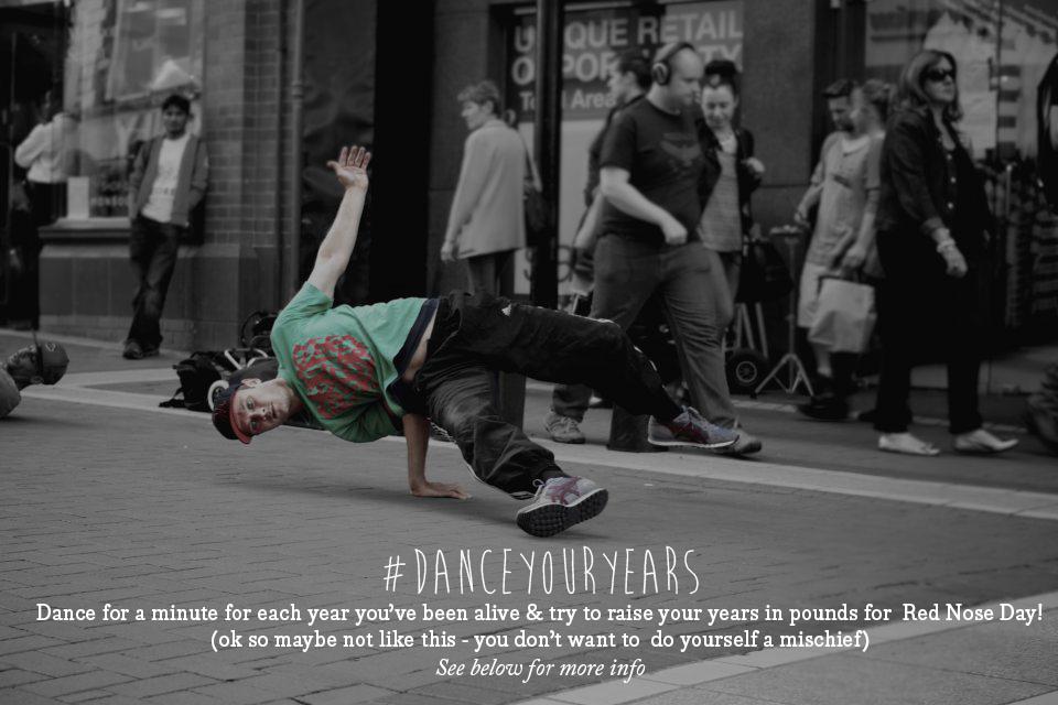 Team Honk #DanceYourYears