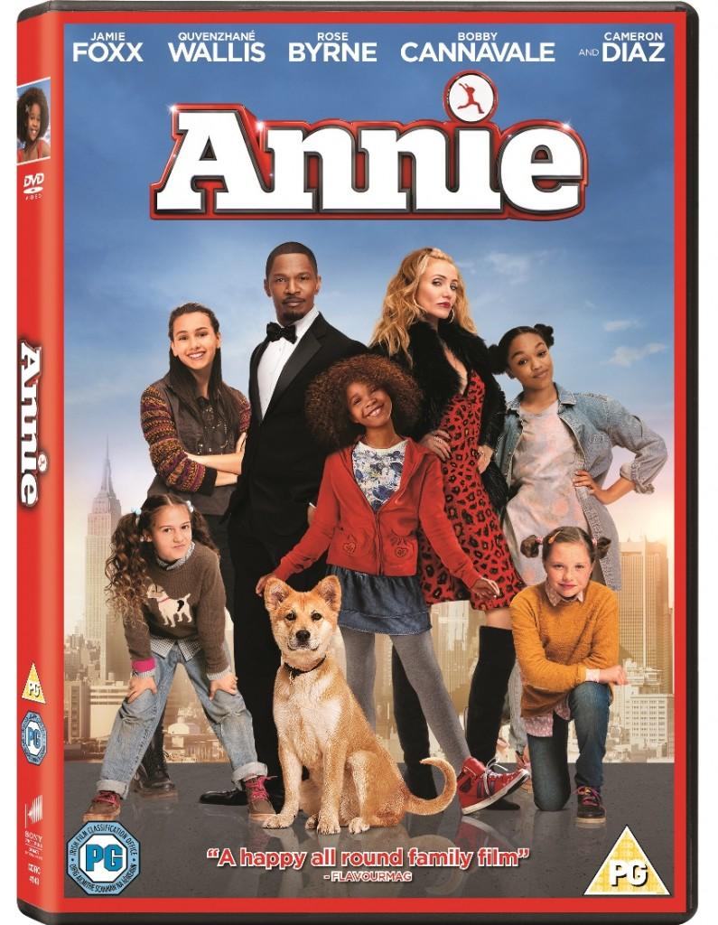 Annie Movie 2014 DVD release