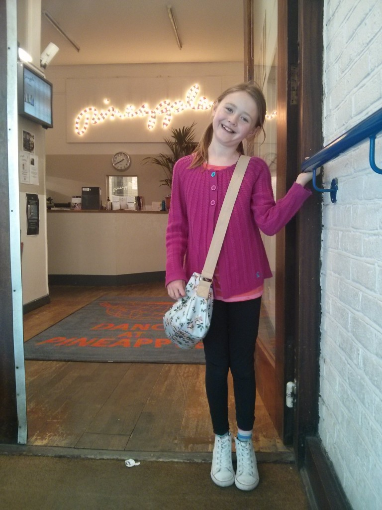 One super excited Miss OCG just before heading into Pineapple Dance Studios!