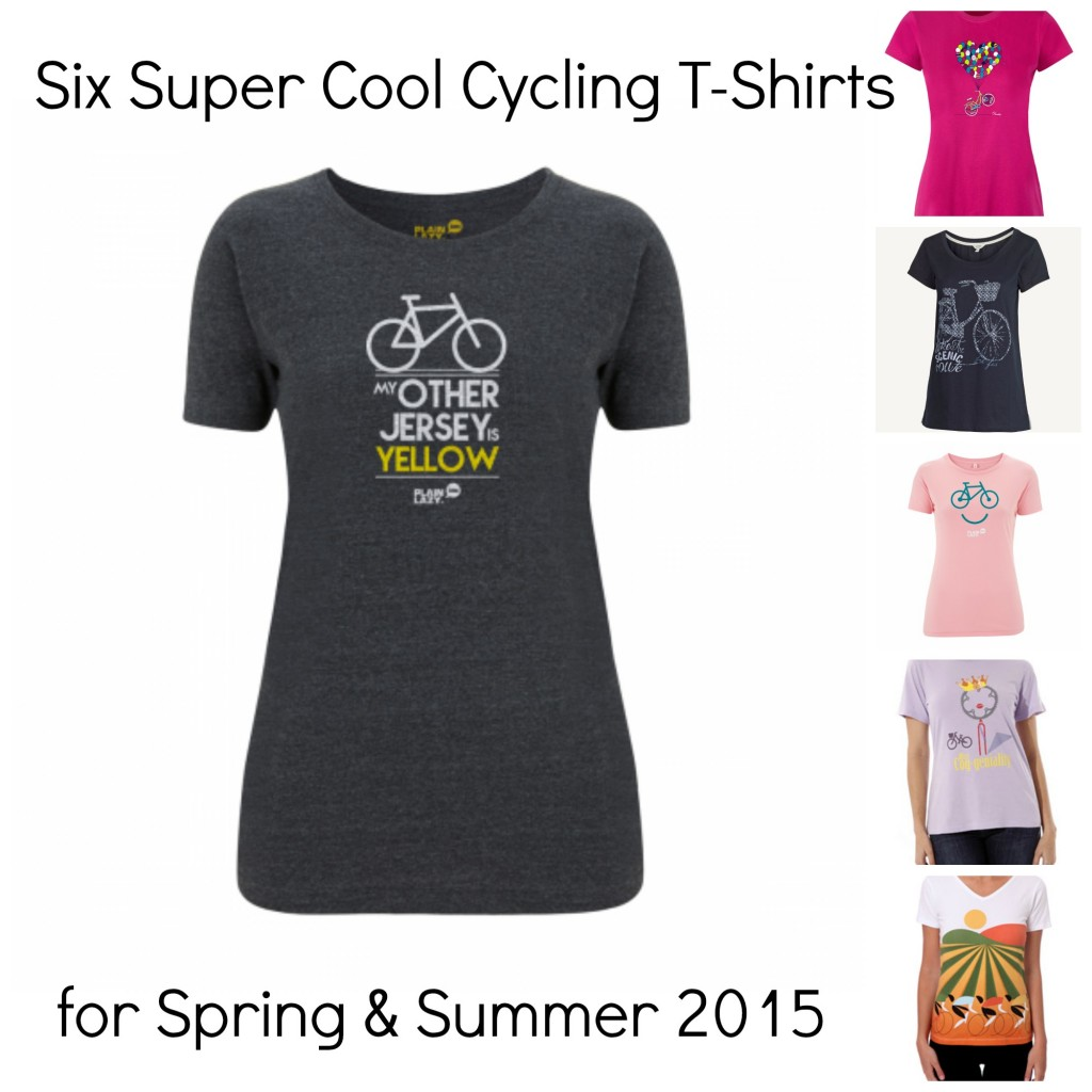 Cycling t-shirts Spring Summer 2015