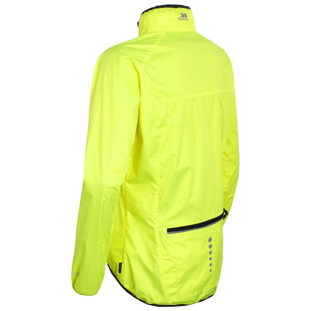 Trespass hi-vis cycling jacket