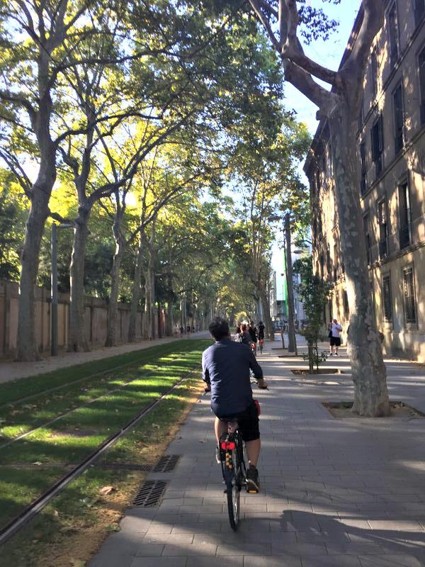 Cycling in Catalunya, Barcelona