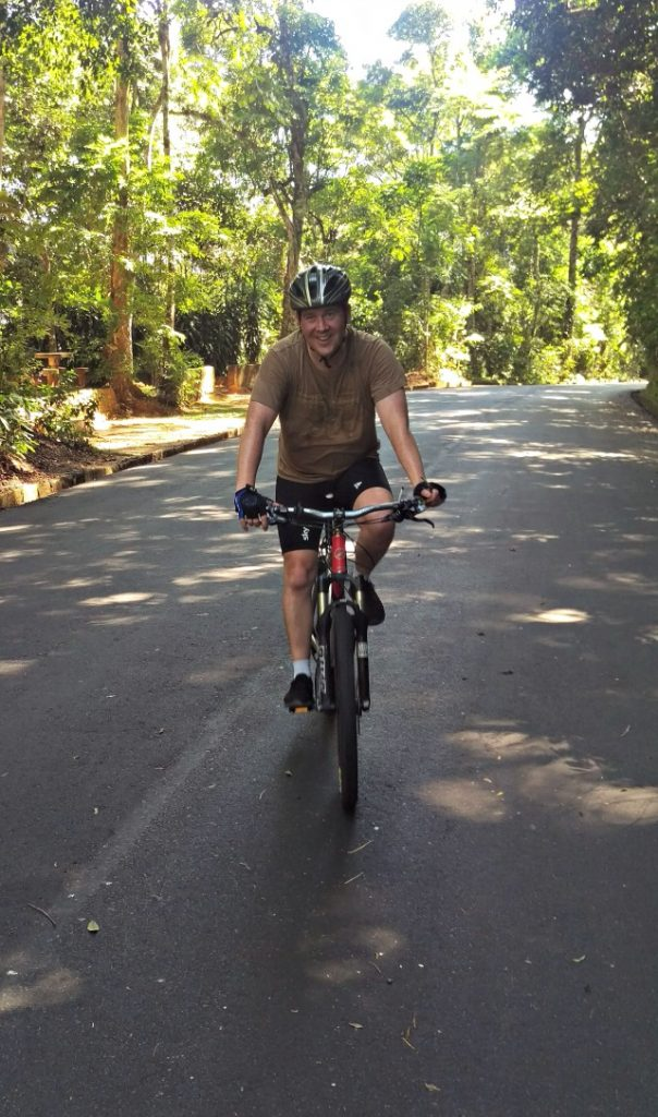 cycling in Rio Tijuca Forest