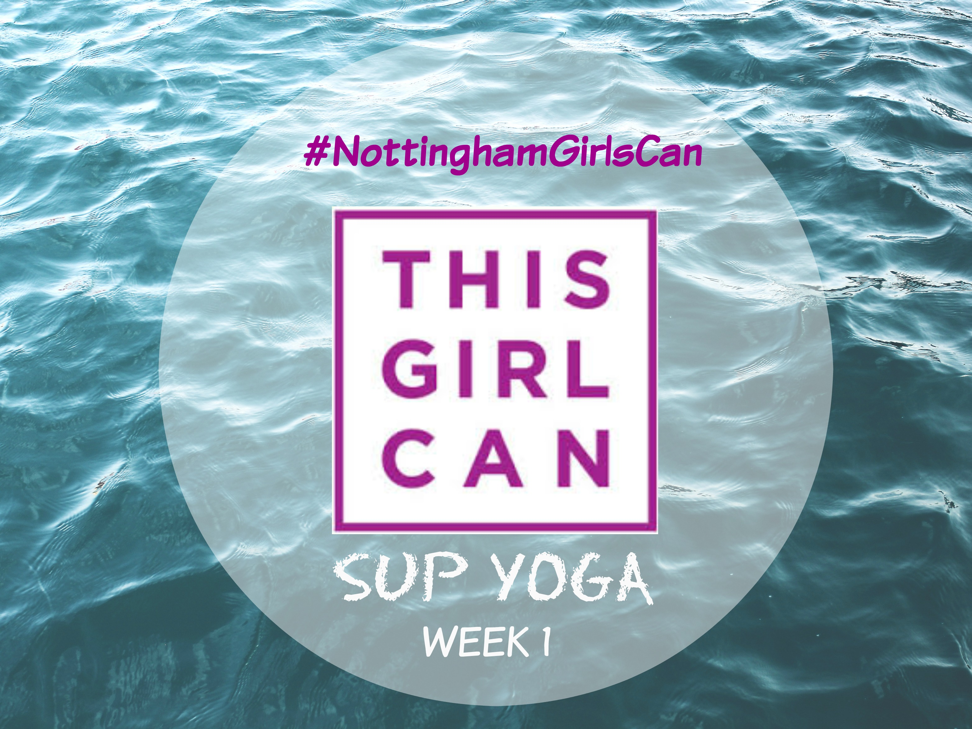 This Girl Can SUP Yoga week 1